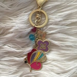 Butterfly charm for the handbag